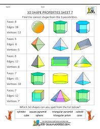 Grade 7 Math Worksheets Free Free Printable Geometry Worksheets 3rd Grade