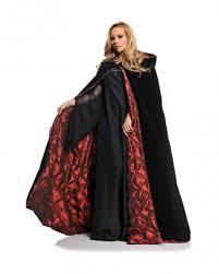 Vampire Cape Black Deluxe Velvet Hooded Cloak Vampire Cloak Online Order