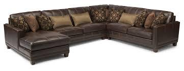flexsteel sectional sofa flexsteel latitudes port royal transitional four sectional