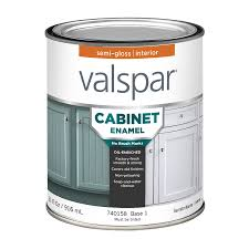 Interior Paint by Shop Valspar Cabinet Enamel Semi Gloss Latex Interior Paint