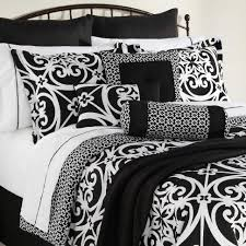 comforter comfortables set home design ideas set black and white