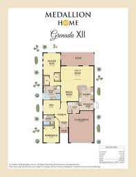 grenada home plan by medallion home in crosscreek