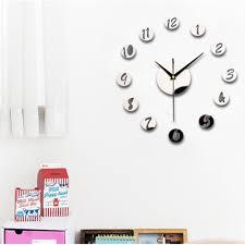 Minimalistic Wall Clock by Modern Minimalist Wall Clock Advanced Thicker Acrylic 3d Diy