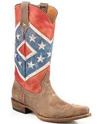 roper womens boots sale roper s rebel flag snip toe distressed boots