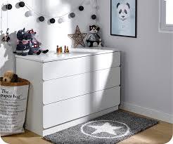 commode chambre garcon chambre enfant twist blanche set de 3 meubles