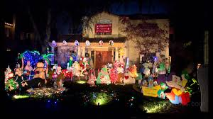 christmas light tour sacramento christmas lights in the fab 40 s youtube