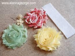 shabby flowers how to easy shabby flower headband alanna george the craft nest