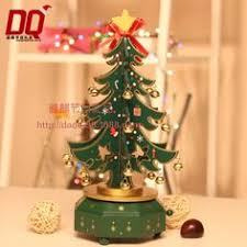 26cm wooden musical tree decorations wooden