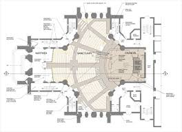 Anglican Church Floor Plan by Kodet Hennepin Avenue Floor Png 640 462 Pixels Layouts