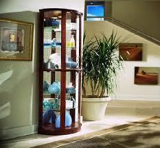 Contemporary Living Room Cabinets Contemporary Pulaski Curio Cabinet Design Newgomemphis