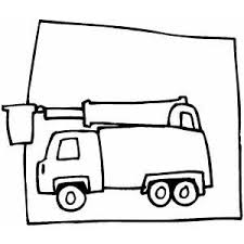 cherry picker on frame coloring page