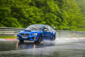 subaru green 2017 nürburgring monsoon subaru wrx sti record attempt on the
