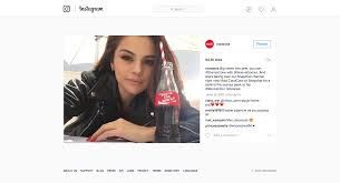 si e social coca cola ad or not coke and ms gomez in advertising