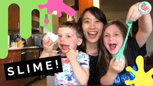 babysitting crafts how to make slime with eden u0026 samson youtube
