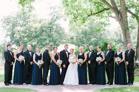 what to wear with navy bridesmaid dresses archives southern weddings