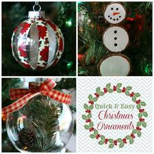 collection easy christmas ornaments pictures funezcrafts easy