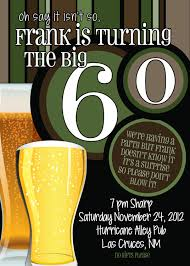 60th birthday invitations clipart 20