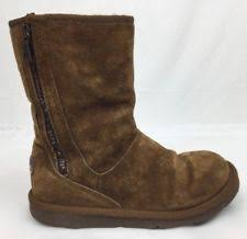 s ugg australia mini zip boots ugg australia zip suede ankle boots for ebay