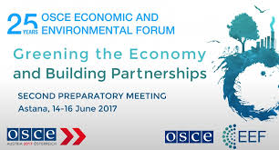 2nd preparatory meeting of the 25th osce economic and