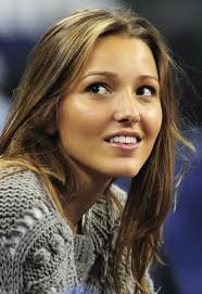 Jelena Ristic watches on as Novak Djokovic competes at the Tennis Masters Cup in Shanghai in 2008. http://fashion-itlay.blogspot. - 280056-jelena-ristic