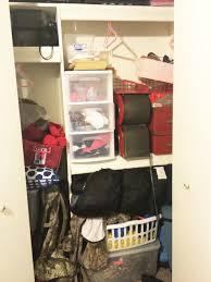 how to organize a kids closet classy clutter organize closet before