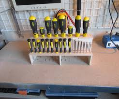 screwdriver organizer 4 steps with pictures
