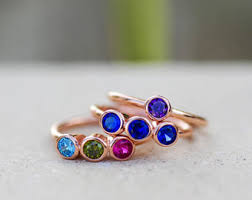 grandmothers rings family etsy