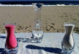Sand Vases For Wedding Ceremony Unity Sand Ceremony New Jersey Wedding Officiant Nj Wedding