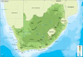 africa map physical south africa physical map order and south africa
