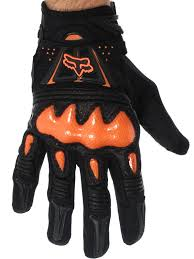 fox motocross gloves fox black orange 2018 bomber mx gloves fox freestylextreme
