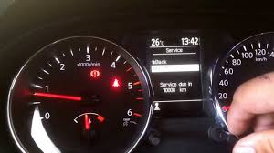 nissan australia service intervals dualis 2013 meter reset youtube