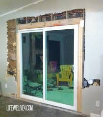 Install Sliding Barn Door by Glass Door Installation Images Glass Door Interior Doors