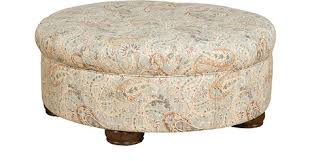 nancy round upholstered ottoman 0078 king hickory benches