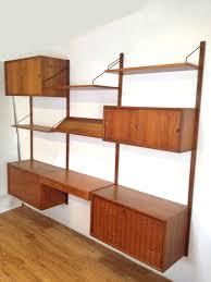 danish modern bookcase wall unit house design ideas