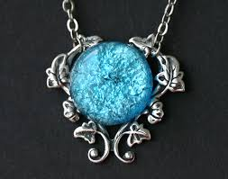 turquoise opal turquoise blue fire opal necklace