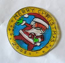 dabbled shrinky ornament how to and template and if