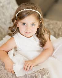 flower girl headbands flower ring bearers photos flower girl with pearl
