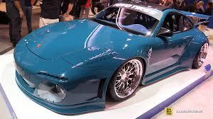 2008 Porsche 997 C2s By Dl Design Toyo Tires Stand Exterior