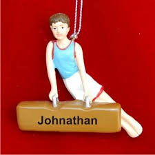 12 best gymnastics ornaments images on personalized