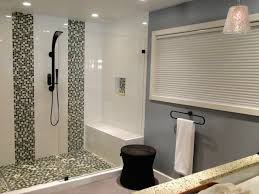 white vanity sink wooden cabinet walk in shower for small bathroom