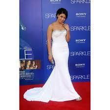 sparks white beaded prom dress u0027sparkle u0027 los angeles premiere