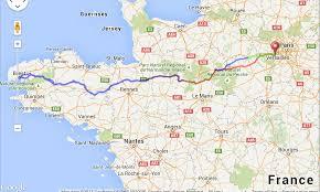 Map Of Paris France A Map Of Paris France For The 2015 Paris Brest Paris Cycling Race