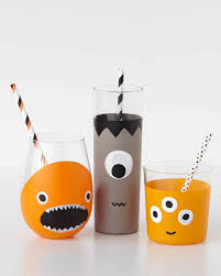 halloween monster drinkware martha stewart