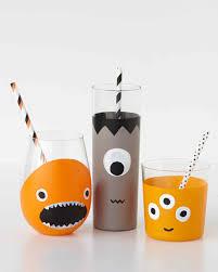 Halloween Appetizers Martha Stewart Halloween Monster Drinkware Martha Stewart