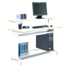 Portable Computer Desk Portable Computer Desk On Wheels Trendy Beautiful Size Of