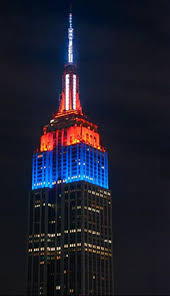 empire state building lights tonight through twitter mit alums help determine empire s state of mind