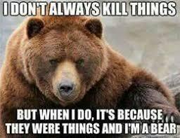 Funny Bear Meme - angry bear giggles pinterest bears humor and sarcastic humor