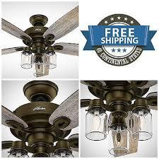 Mason Jar Ceiling Fan by Industrial Ceiling Fan Zeppy Io