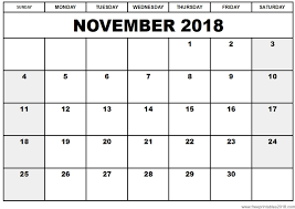 printable calendars free free printable calendar november 2018 free printables 2018 for