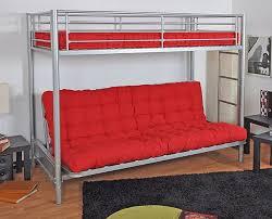 lit mezzanine et canapé mezzanine canapé intérieur déco